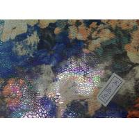 Buy cheap Elastic Printed Suede Leather Fabric Abrasion Resistant For Furniture from wholesalers