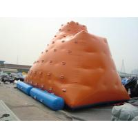 Buy cheap Inflatable Water games / inflatable water iceberg / climbing tower air tight pvc tarpaulin from wholesalers
