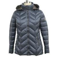 Buy cheap Winter Warm Womens Puffer Coat With Hood , Casual Style Slim Down Jacket from wholesalers