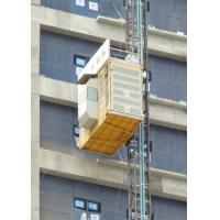Buy cheap High Speed Heavy Load Building Site Hoist , Temporary Construction Elevators from wholesalers