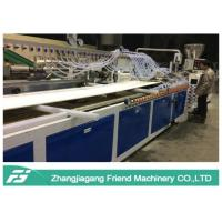 Buy cheap 900mm Width WPC Board Production Line With PVC Resin Material Easy Operation from wholesalers