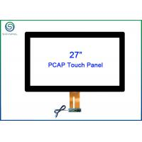 Wholesale 27 Inch Capacitive Touch Panel With ITO Technology G + G Structure For Touch Displays from china suppliers