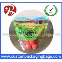 Buy cheap Vegetables / Fruit Packaging Bags Air Holes Plastic for Storage from wholesalers