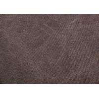 Buy cheap 18OZ Enzyme Wash Fabric / Dyeing Cotton Fabric With Nostalgic Feeling from wholesalers