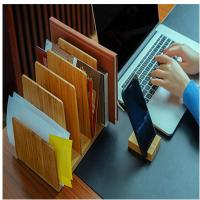 Buy cheap hot selling bamboo book holder brochure holder using office home with factory price from wholesalers