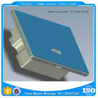 Customized high quality 2mm thickness glass panel for smart switch
