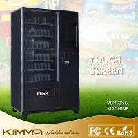 Buy cheap Touch Screen Waiting Room Healthy Snack And Drink Vending Machine Drinks Center KVM-G654T26 from wholesalers
