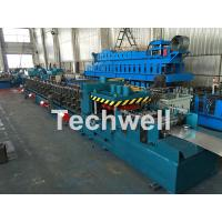 Galvanized / Carbon Steel CZ Shaped Roll Forming Machine For 0-15m/min Forming Speed Manufactures