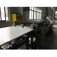 Buy cheap CE Certificated Plastic Sheet Extrusion Machine For Kitchen Cutting Board from wholesalers