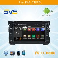 Buy cheap Android 4.4 car dvd player GPS navigation for KIA CEED 2006-2012 with dvd/vcd/cd/mp3/cd-r from wholesalers