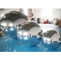 Buy cheap Hanging Silver Inflatable Mirror Ball / Inflatable Mirror Balloon EN14960 from wholesalers
