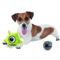 China Crazy Squeaky Bouncer Jumping Dog Toy Interactive Electronic Plush Toy on sale