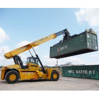 Buy cheap 45 Ton Telescopic Boom Crane Container Reach Stacker XCS45 Efficient Operation from wholesalers