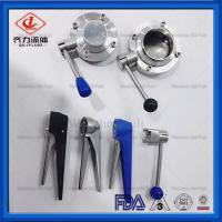 Buy cheap Intelligent  Mini Pneumatic Actuator Butterfly Valve Male / Female Thread from wholesalers
