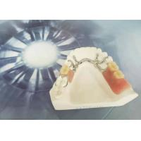 Buy cheap Cocr Chorme Cast Removable Restorations Easy Clean Strong Hardness CE Certificated from wholesalers