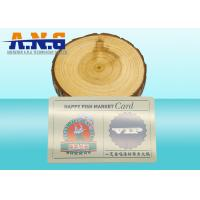 Wholesale Matted Surface Magnetic Stripe Card with QR Code , Silk Screen Printing from china suppliers