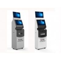 Buy cheap Bill self service Kiosk EMV And Magnetic Stripe VISA / Master Bank Card Read from wholesalers