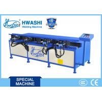 Buy cheap Manual Wire Shelf Frame Bending Machine HWASHI Bending Steel Wire 12 Months product