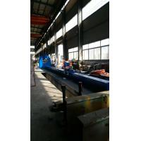 Buy cheap China  Galvanized Light Pole Shut and Welding Machine Hydraulic Synchronous 6 Claws Clamping by Heavy Duty Chain Driving from wholesalers