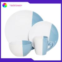 Buy cheap Thanksgiving Ceramic Dinnerware Sets Coffee Cup Glazed Dessert Plate Soup Mugs from wholesalers