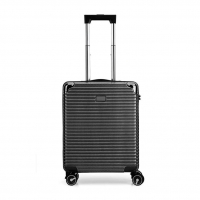 Wholesale Aluminum Trolley System BLACK ODM Spinner Carry On Luggage from china suppliers