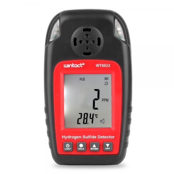 Quality WT8822 0-100ppm High Sensitive Handheld Hydrogen Sulfide Detector for sale
