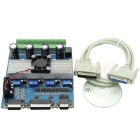 Buy cheap Stepper Motor Driver TB6560 4 axis Controller Board for CNC Engraving Machine 0-10V from wholesalers