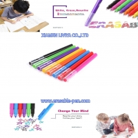 Buy cheap Smooth Writing Variegated Color Water Based Felt Tip Pens from wholesalers
