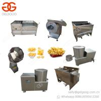 Buy cheap Small Scale Potato Chips Making Machine French Fries Production Line from wholesalers
