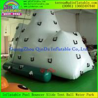 Buy cheap HOT!!! Giant Inflatable Floating Iceberg Aqua Tower Mountain Inflatable Iceberg Climbs from wholesalers