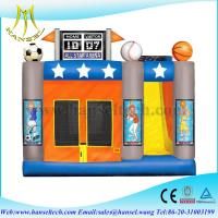 Buy cheap Hansel inflatable sports games,inflatable bouncer slide,inflatable toys for rent from wholesalers