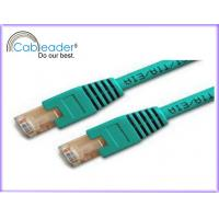 Buy cheap Green color two-row RJ45 8P8C gold plating 10 dB Return loss Cat5e Network Cables from wholesalers