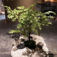 Buy cheap Health Environmental Protection Artificial Maple Tree 10 Years Life Time from wholesalers