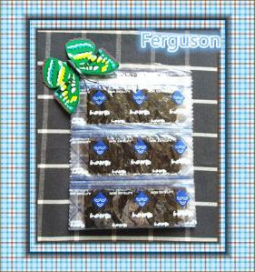 2pcs*100sachets packing seasoned flavour seaweed snacks