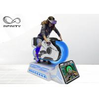 Buy cheap Infinity 9D VR HD 3 DOF Racing Car Equipment Virtual Reality Motorcycle Simulator  For Shopping Mall from wholesalers