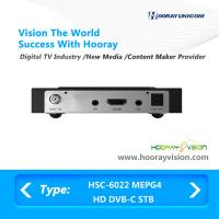 Buy cheap USB Port High Definition Set Top Box Mpeg4 128MB DDR Without Smard Card Reader from wholesalers