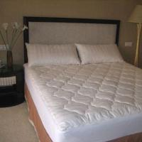 Buy cheap Quilted Mattress Pad with Machine Washable, Made of 100% Cotton Fabric from wholesalers