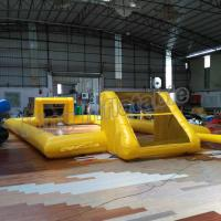Buy cheap Single Layer Outdoor Inflatable Football Field for Entertainment from wholesalers