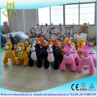 Hansel Battery Powered Animal Rides / Toys Shopping Mall Center Game Manufactures