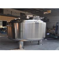China 1000L Stainless Steel Fermentation Tanks Steam Heating / Electric Heating on sale