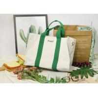 Buy cheap Oblique Cross Canvas Portable File Big Capacity Recyclable Tote Bag from wholesalers