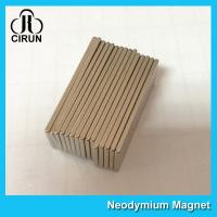 Buy cheap Super Powerful Industrial Neodymium Magnets Bar Shaped High Flux from wholesalers