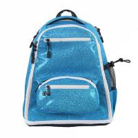 Wholesale Cheerleaders Fashion Sports Backpack With Four Pocket Zip Closure PVC Material from china suppliers