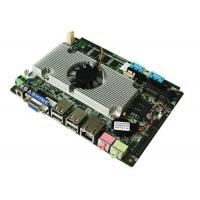 Buy cheap Intel Atom D525 Processor  3.5 inch 6 COM embedded industrial mainboard DC Power supply from wholesalers