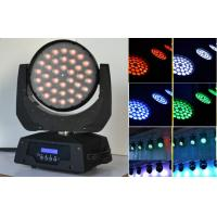 Buy cheap RGBW Zoom Led 10 Watt Moving Head Wash Light For Dance Halls Disco from wholesalers