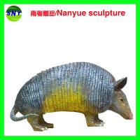 China life size artificial statue   pangolin model  doll as decoration statue in garden park on sale