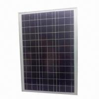 Buy cheap 50W Solar module, poly-crystalline solar cell from wholesalers