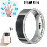 Buy cheap Custom Brand Print Logo  NFC Smart Ring ID Card Digital Ring from wholesalers
