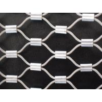 Buy cheap Marine Grade Stainless 316 Wire Rope Mesh,Steel Wire Rope Woven Mesh,Seawater Corrosion from wholesalers