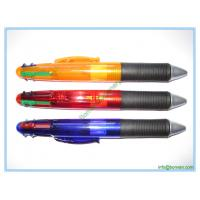 Buy cheap plastic multi-color pen,four color ink ball pen from wholesalers